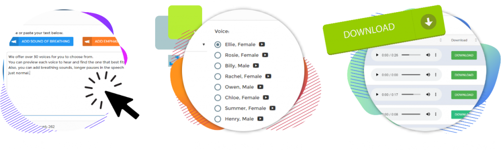 text to speech mp3 with natural voice